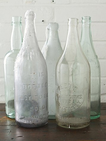 Vintage Large Glass Bottle