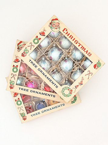 Vintage Set of Assorted Ornaments