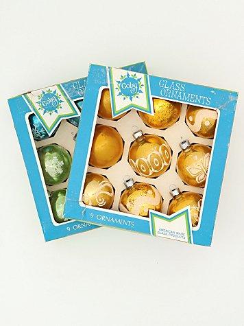 Vintage Set of Assorted Ornaments