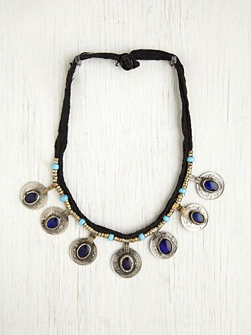 Vintage Kuchi Coin Necklace
