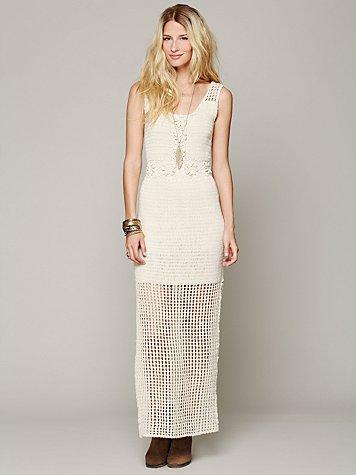 Kristal's Crochet Daisy Dress