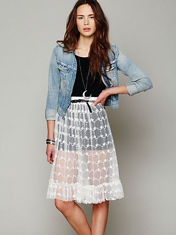 Lace Connections Skirt