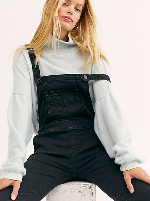Washed Denim Overall