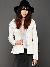 Capital Peplum Jacket
