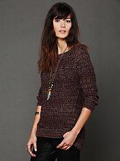 Open Neck Sweater Tunic