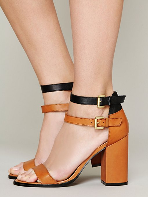 Gin Double Strap Heel