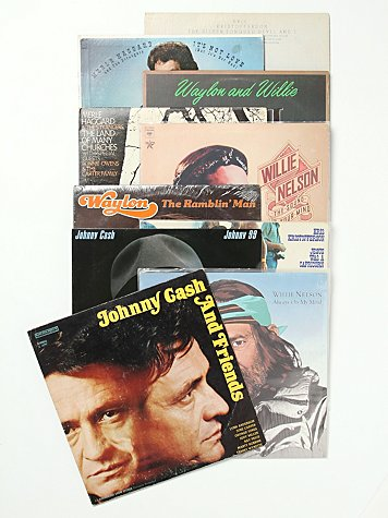 "Vintage ""The Highwaymen"" Collection of Records"