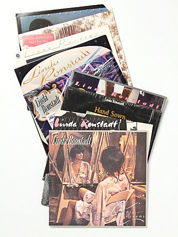 """Vintage """"Linda Ronstadt"""" Collection of Records"""