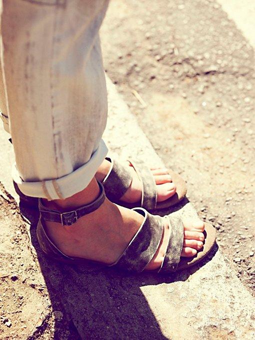 Crowe Distressed Sandal