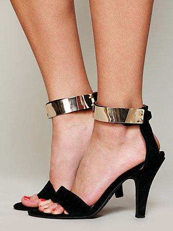 Blair Metal Strap Heel
