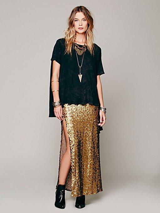 Mermaid Sequin Skirt