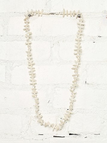 Vintage Ivory Shell Necklace