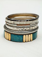 Tropical Hard Bangle Set