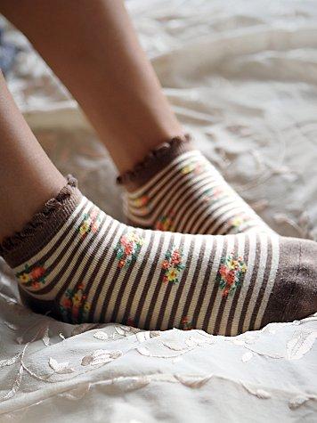 Striped Garden Anklet