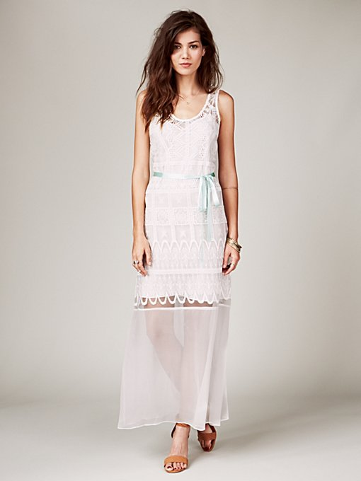 Yvette Embroidered Dress