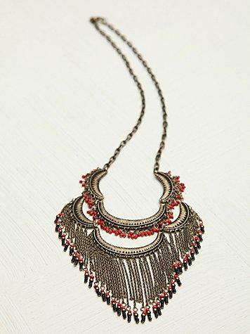 Fine Fringe Collar