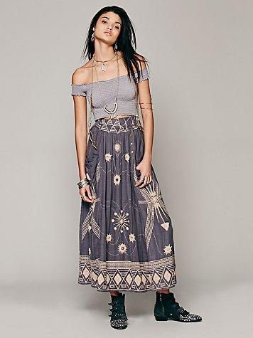 FP New Romantics Sweet Nothings Maxi Skirt