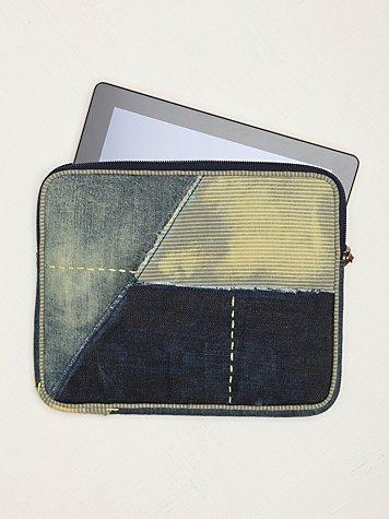 Distressed Boro iPad Case