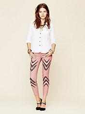 Dotted Ikat Skinny