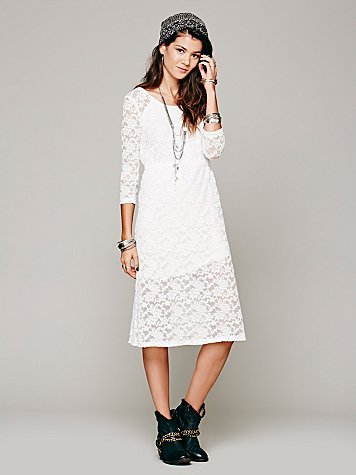 Raindrops Lace Dress
