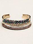 Mixed Jeweled Bangle Set