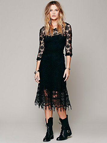 Daisy Chemical Lace Dress