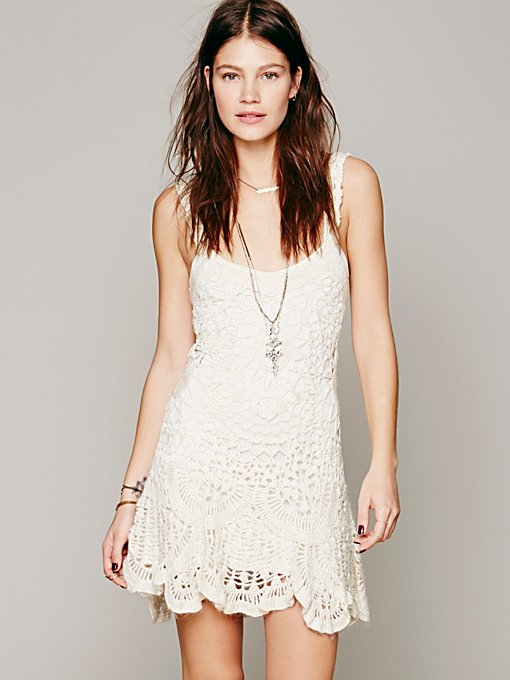 Radiance Crochet Dress
