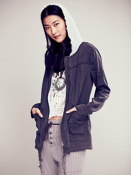 One Stop Tencel Hooded Jacket