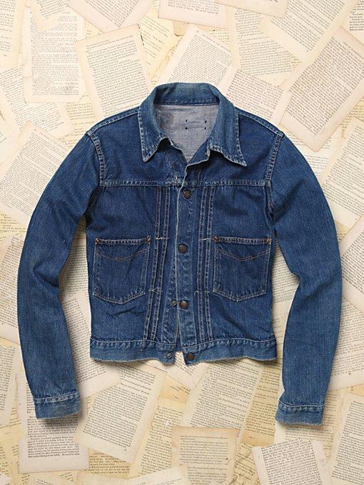 Vintage 1940s Denim Jacket