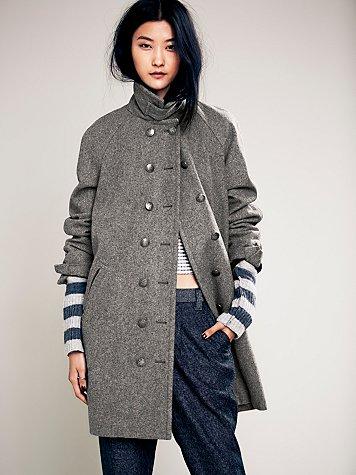 Cocoon Wool Coat