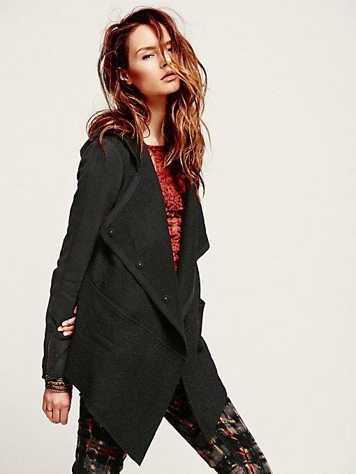 Drippy Wool Jacket