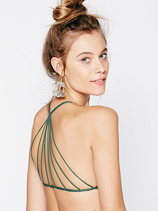 Strappy Racer Back Swim Top