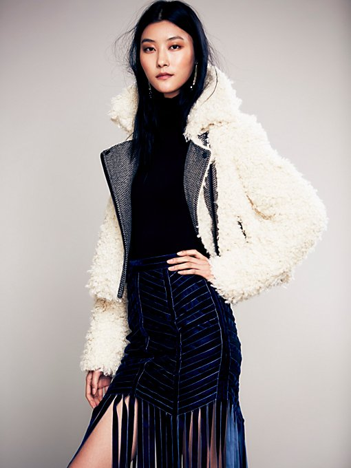 Shaggy Sherpa Coat
