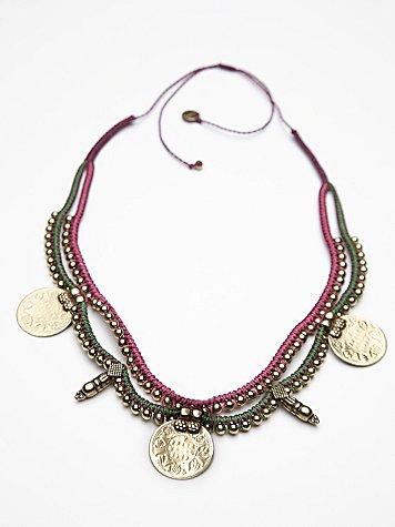 Coins Massai Necklace Collar