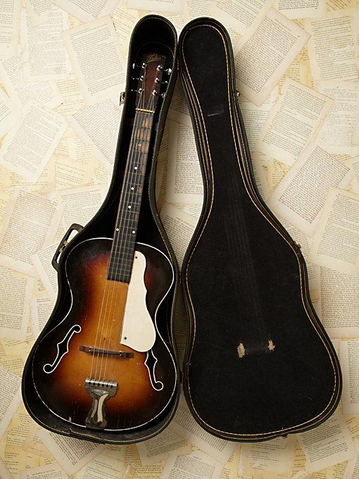 Vintage Famos Guitar