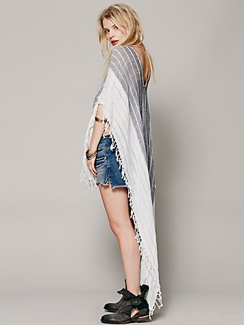 Highs and Lows Poncho