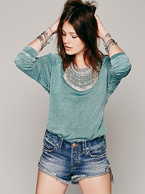 Drifter Slouchy Pullover