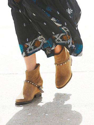 Golden Twilight Ankle Boot