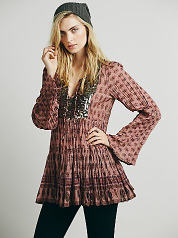 FP ONE Sequin Embellished Tunic