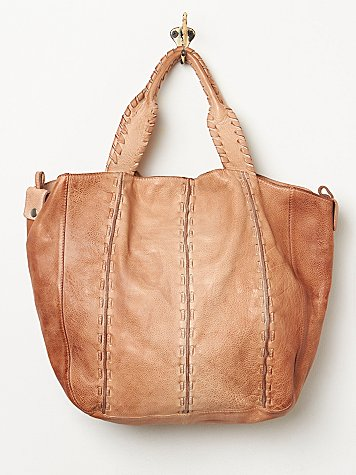 Wave Leather Bag