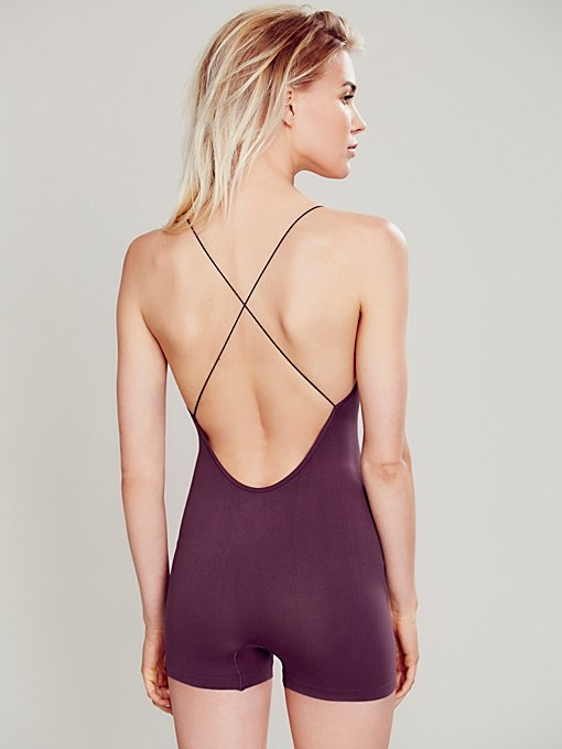 Low Back Seamless Romper
