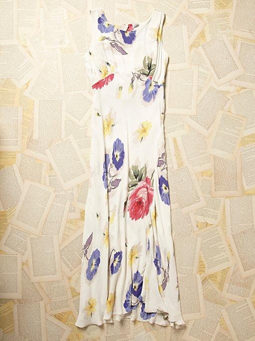 Vintage 1960s Floral Dress