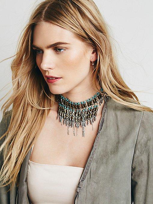 Bonfire Fringe Collar