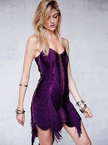 Jagger Fringe Dress