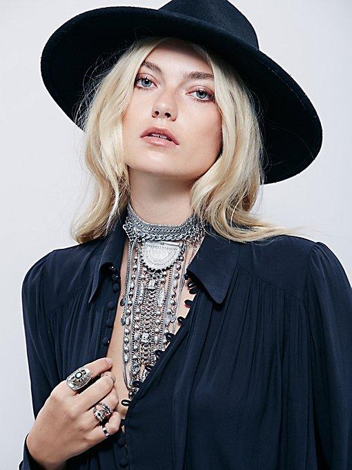 Exaggerated Fringe Collar