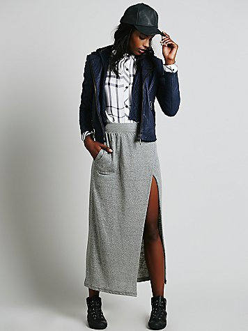 Sweet and Long Maxi Skirt