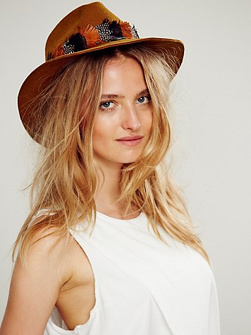 Foxwood Feather Banded Hat