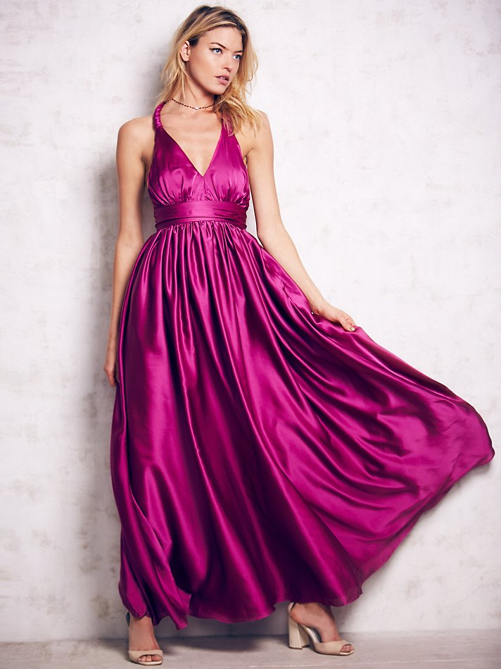 Gorgeous Grecian inspired gown