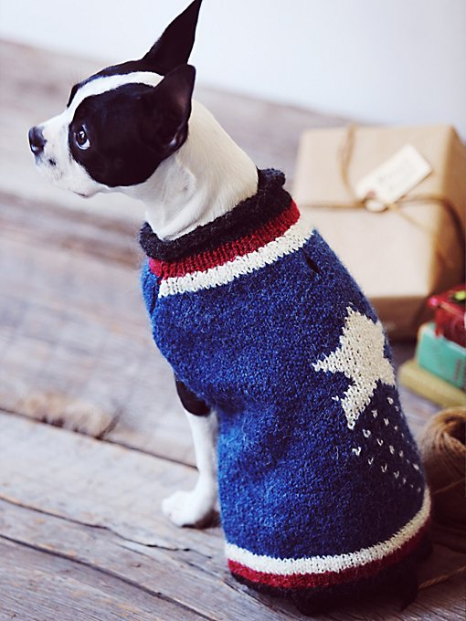 Americana Dog Sweater