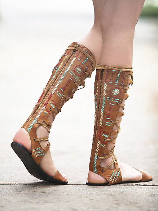 Bellflower Gladiator Sandals
